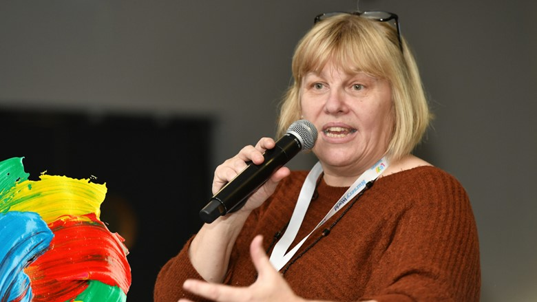 Judith Twani speaking at the Nursery World Show 2019