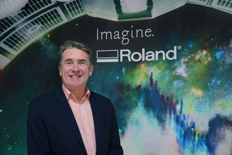 Davies: played a key part in the growth and success of Roland DG