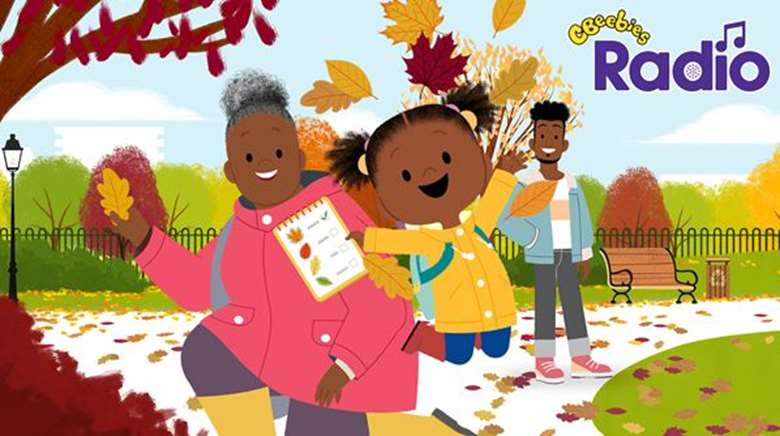 The CBeebies TV series will play on BBC Sounds from today (1 December)