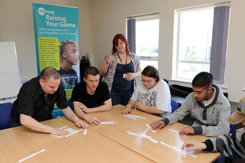 Organisations are helped to work with young people with learning difficulties