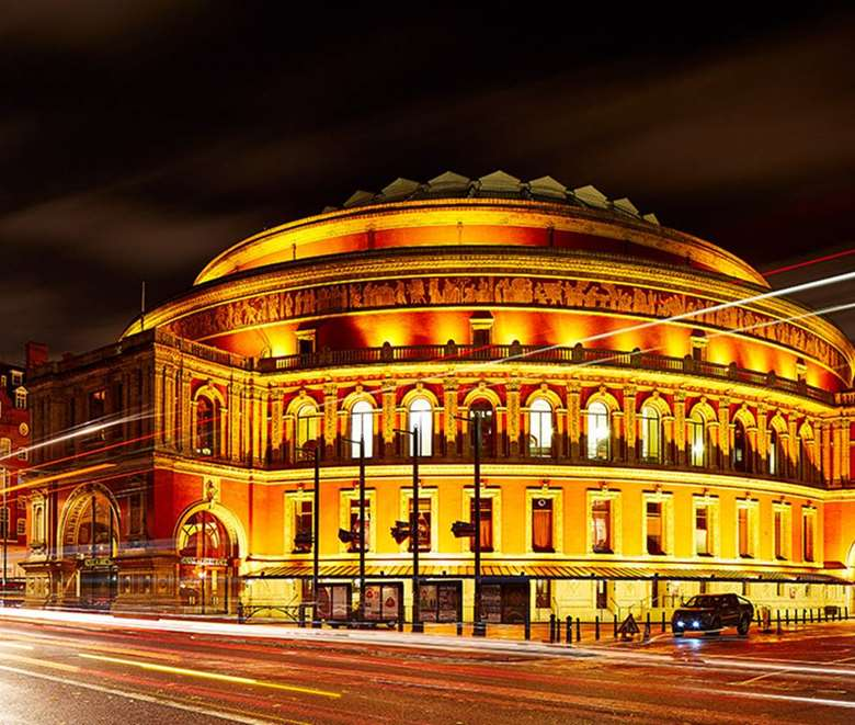 The Royal Albert Hall is among the many venues to have temporarily closed their doors