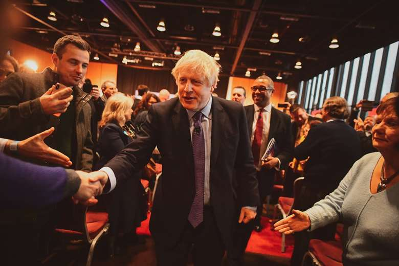 Boris Johnson vowed to invest £14bn in schools. Picture: Conservatives