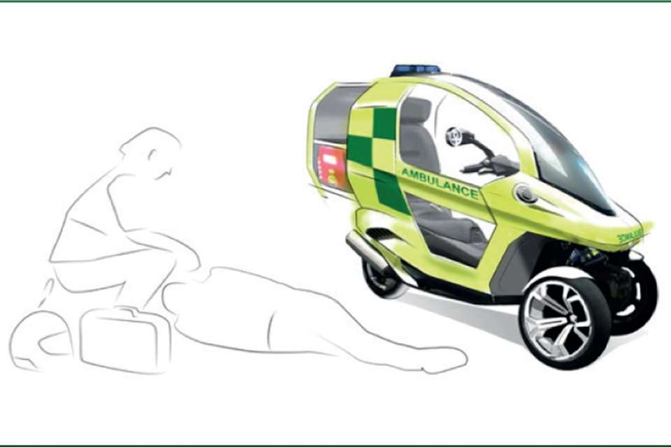 Smaller, lighter, faster? Reducing the carbon footprint of ambulances