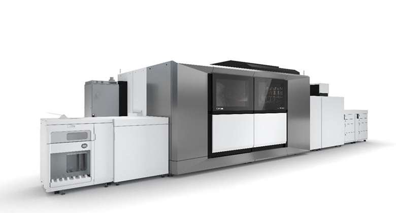 The varioPrint iX3200 is being installed at DMS this month