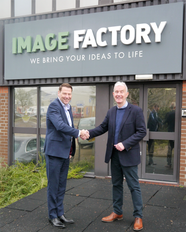 "Martin Hutchings (left), with Terry Smith. ""A great business with a strong, highly-skilled team"""