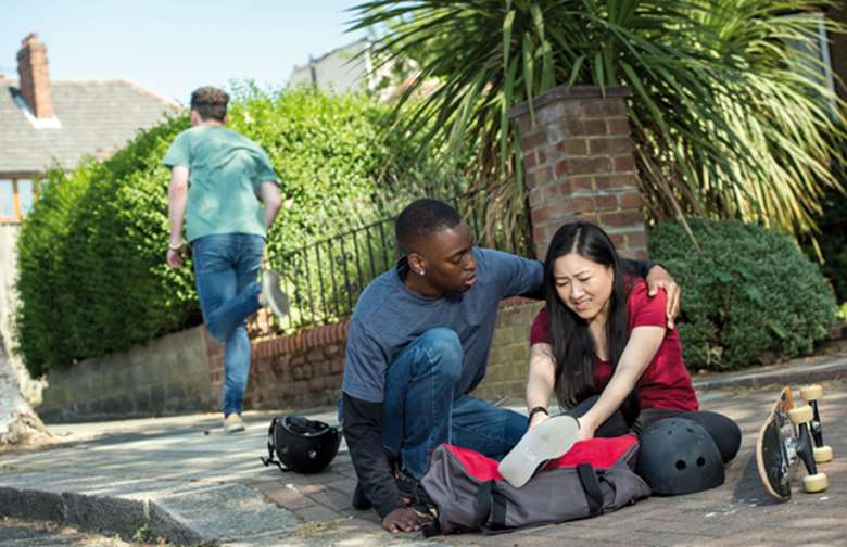 Engage young people in active, scenario-based learning. Picture: British Red Cross