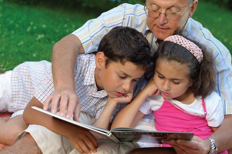 Special guardianship is frequently used for children who were living with relatives, such as grandparents. Picture: Shutterstock, posed by models
