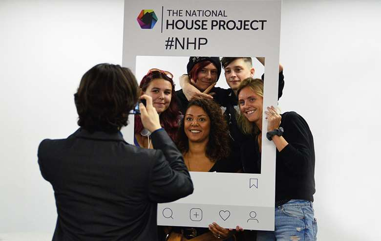 Children in care participate in the House Project in groups, helping to support each other while gaining the skills they will need to successfully move to independent living