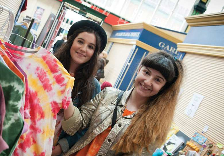 Teenage Markets bring communities together through trading and performance and are now held in 10 locations