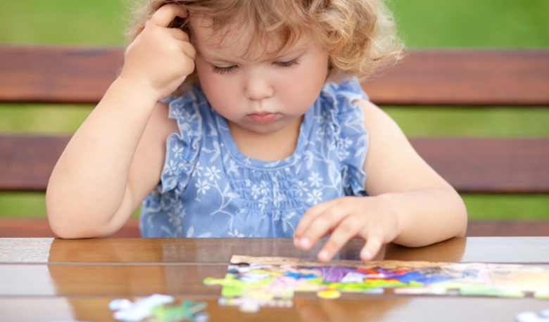 The research finds that children only learn how to do jigsaws once they hit a certain age