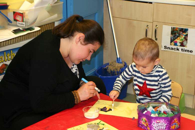 The government must invest in early years staff, the report warns. Picture: Lucie Carlier