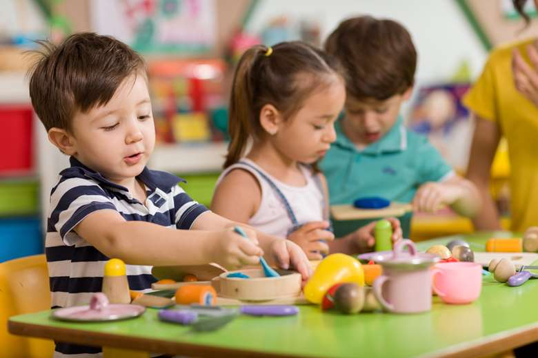 More than 90 per cent of three and four-year-olds were taking up free  childcare places before coronavirus.