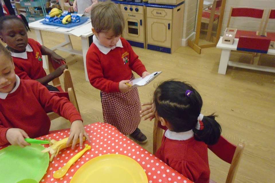 Schemas in action at Kings Hill Primary School in Walsall