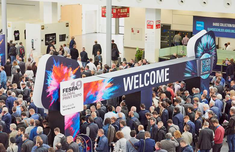 Opening day of Fespa Global Expo 2019