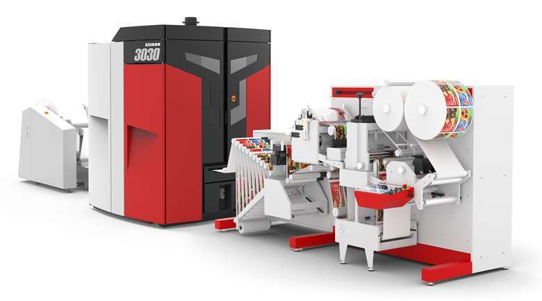 A remanufactured Xeikon 3030 Rex will cost around £164,000