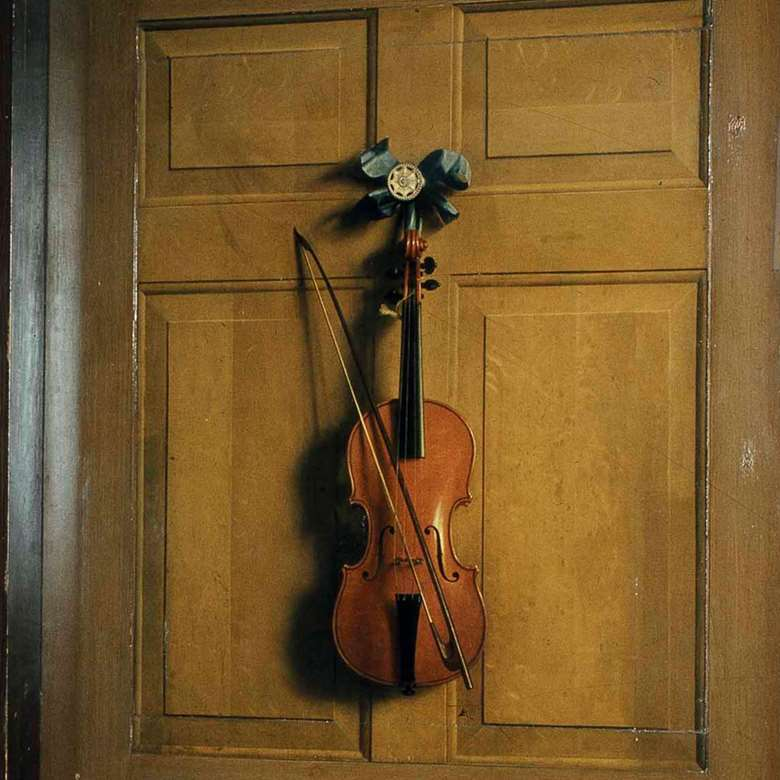 Dutch artist Jan van der Vaart's painting of a violin is a highlight of Tate's new exhibition