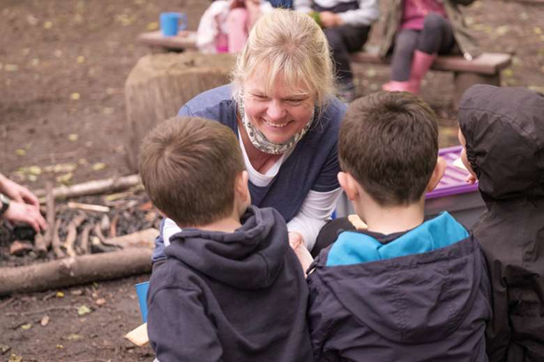 Schools run by the Samara Trust have built outdoor learning into everyday practices