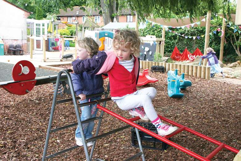 Childcare leaders are concerned that changes to Ofsted's early years inspection framework undermine the value of education through play. Picture: Lucy Carlier