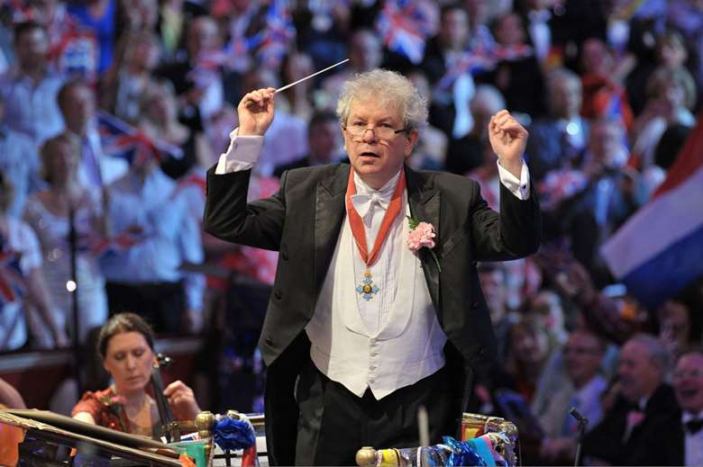 Jiří Bělohlávek at the BBC Proms (Photo: BBC/Chris Christodoulou)