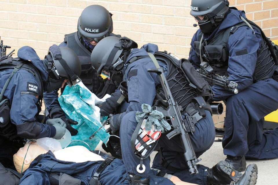 A tactical analgesic option for Durham and Cleveland police firearms medics: the journey