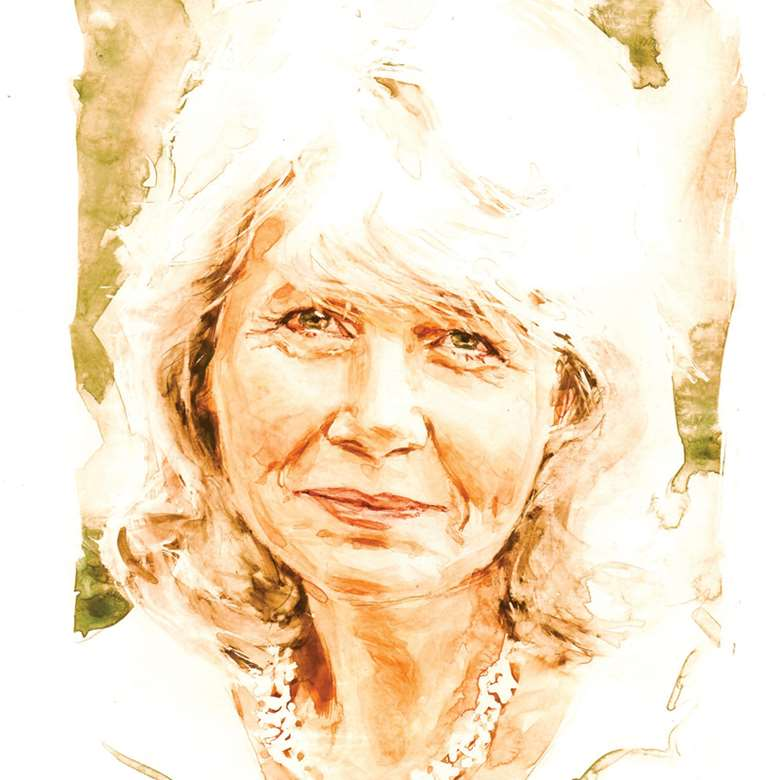 Jilly Cooper (by Philip Bannister)