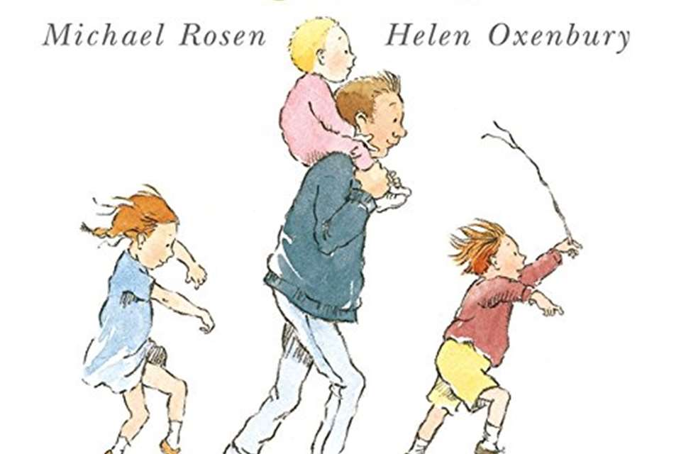 We're going on a bear hunt by Michael Rosen and Helen Oxenbury