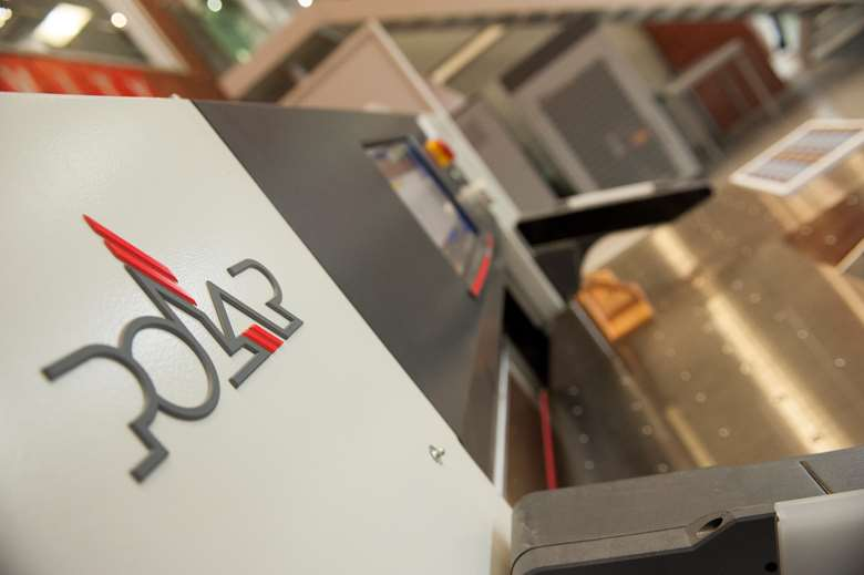 Healeys runs Polar guillotines in both its litho and digital wings
