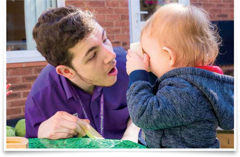 Communication at Loughborough Campus Nursery