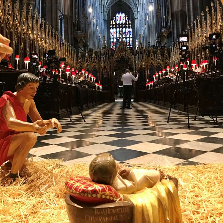 Watch The Choir of Westminster Abbey sing The Sussex Carol (photo: Libby Percival)