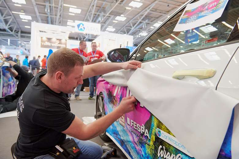 Finalists for the World Wrap Masters competition will face off at Fespa 2020