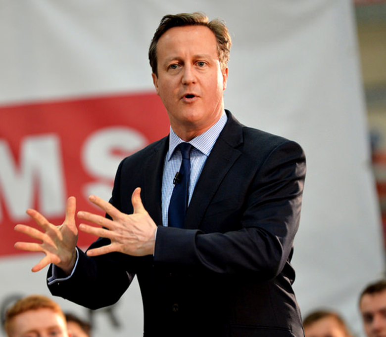 David Cameron will become chairman of NCS Patrons. Picture: Crown Copyright