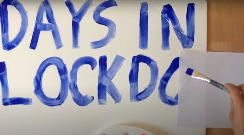 Young people are recording their experiences of lockdown. Picture: Company Three/YouTube