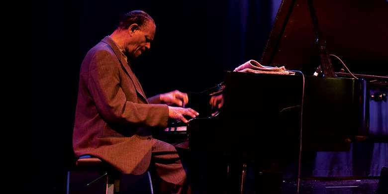 McCoy Tyner (photo: Tim Dickeson)