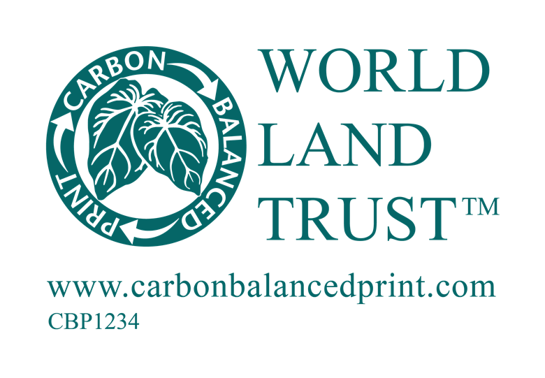 Carbon Balanced Print supports the World Land Trust