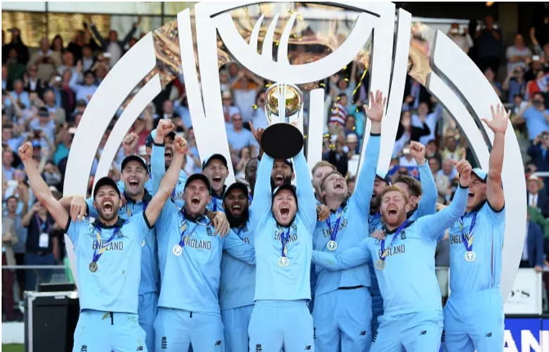 England men's won the Cricket World Cup for the first time on Sunday