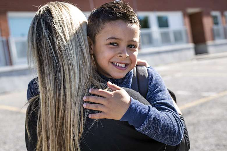 Foster families will get clearer guidance on physical affection with the children they care for. Picture: Pololia/Adobe Stock