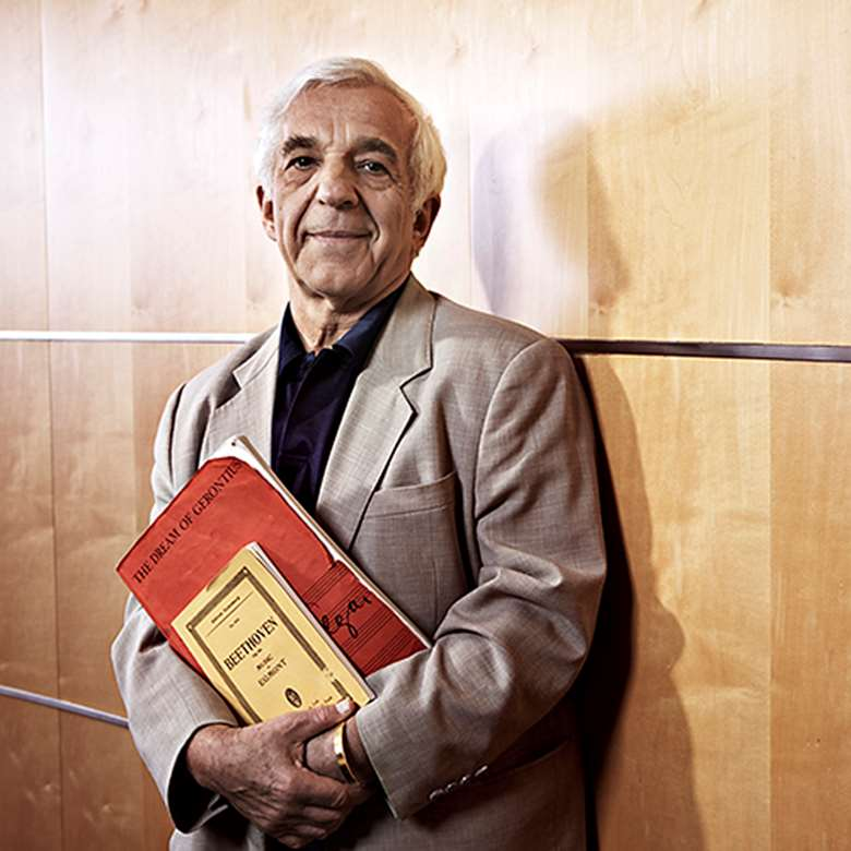Vladimir Ashkenazy announces retirement (photo: Keith Saunders)