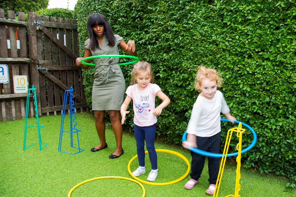Hoops are a versatile resource which can be used for a variety of number games