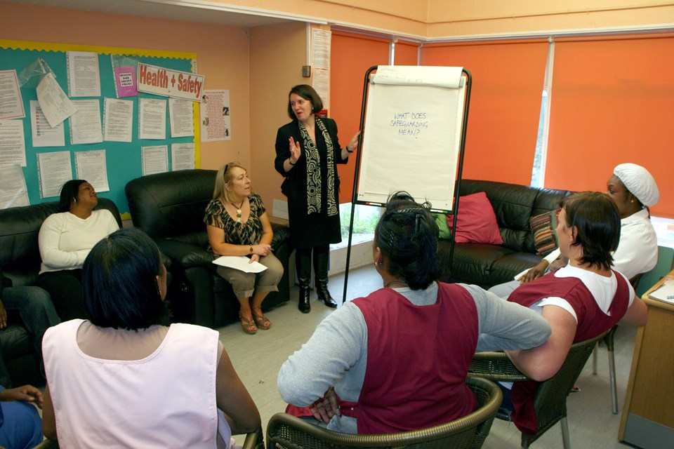 At Aylesbury Day Nursery in south east London all staff are regularly trained in safeguarding.