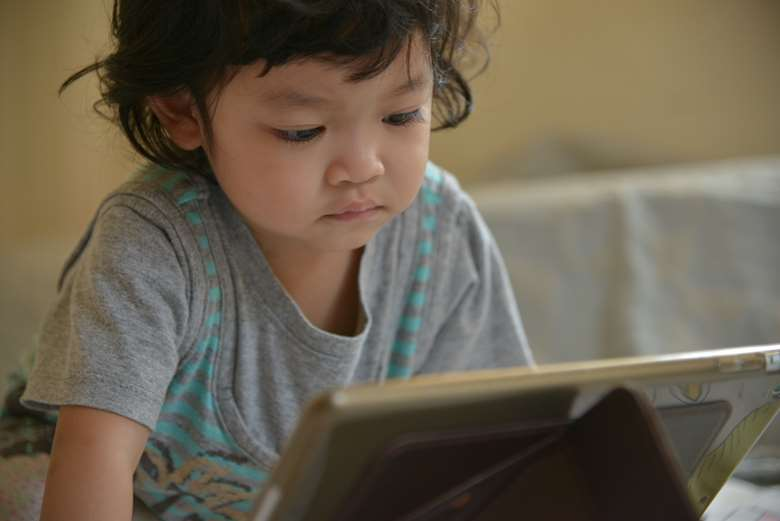 More children from black and ethnic minority backgrounds use apps than white children. Picture: Adobe Stock