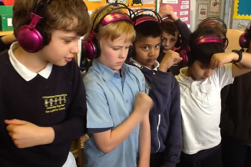 Children at Chisenhale Primary School in east London (pictured) are also benefitting to a subscription to No>press>play