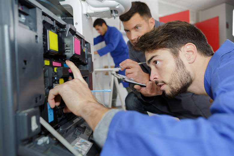 Many apprentices are now enrolled on the Level 3 print technician standard