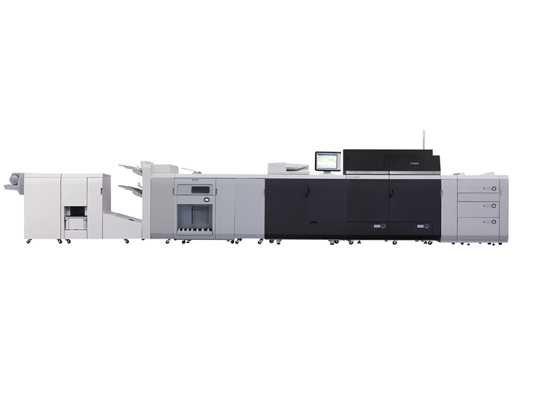 The imagePress C9010VP was installed last month