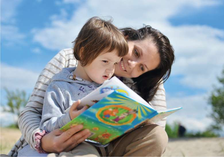 A summer reading challenge encourages children to keep reading and writing