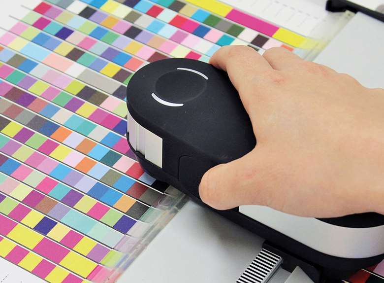 A spectrophotometer is needed to measure colour charts and make profiles