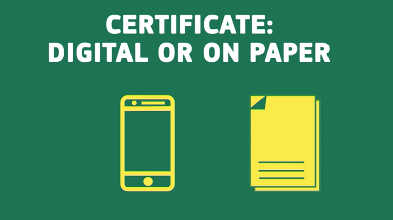 EU released proposals for its Digital Green Certificate this week