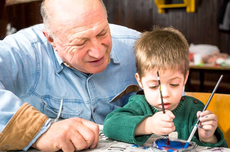 The initiative would see elderly people interact with early years pupils. Picture: Adobe Stock