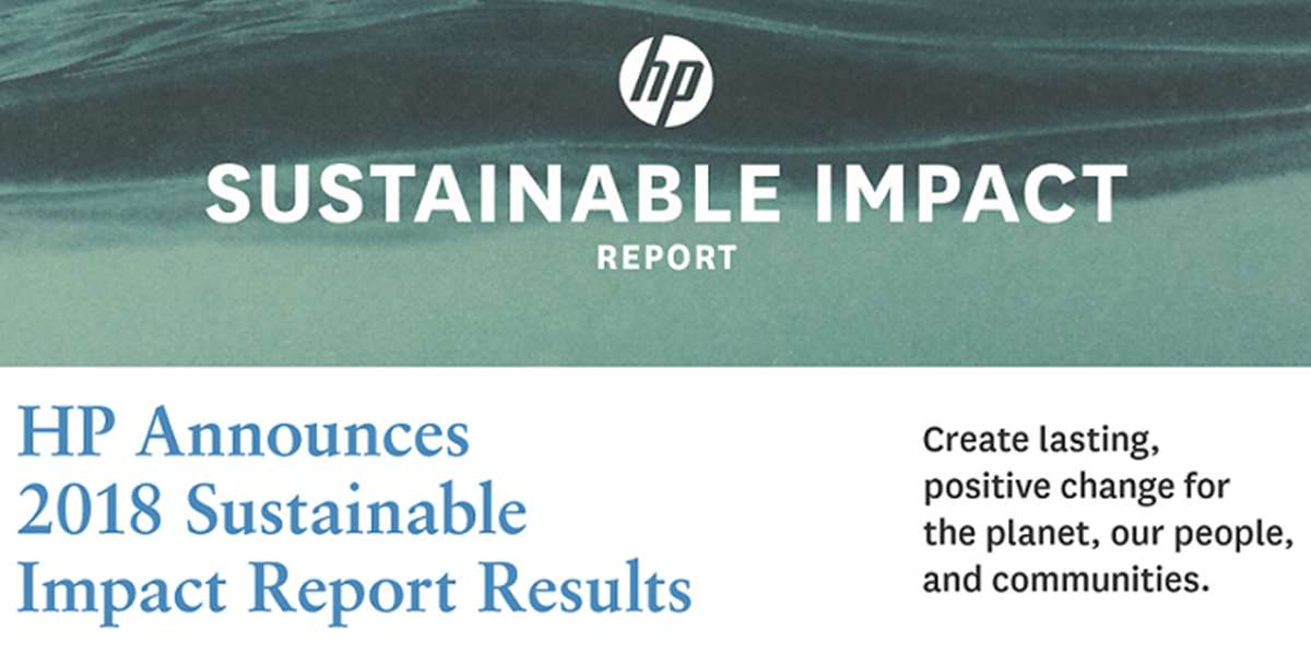 Technology Business Today | HP renews sustainability