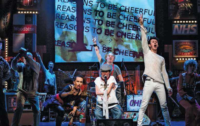 Graeae performing musical, Reasons to Be Cheerful
