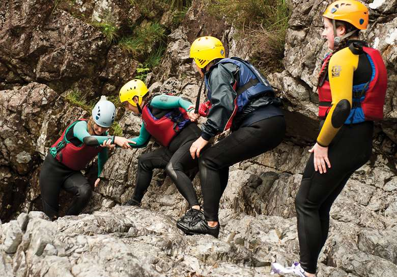 Up 95,000 young people were set to take part in the NCS scheme this summer. Picture: NCS Trust